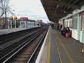 Balham station mainline northbound slow platform look north2.JPG