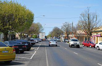 Ballan, Victoria - Inglis Street, the main street