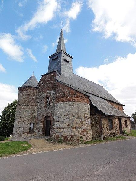 Bancigny (Aisne) église Saint-Nicolas
