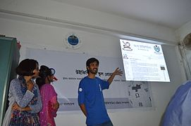 Bangla Wikipedia School Program at Agrabad Government Colony High School (Girls' Section) 29.JPG