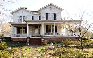 National Register of Historic Places listings in York County, South Carolina - Image: Banks Mack House