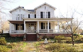 Banks-Mack House - Banks-Mack House, March 2012