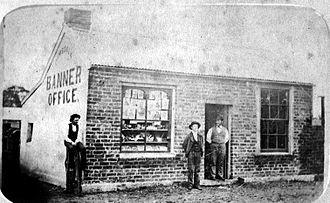 Dimboola Banner - the original printing office of The Dimboola Banner