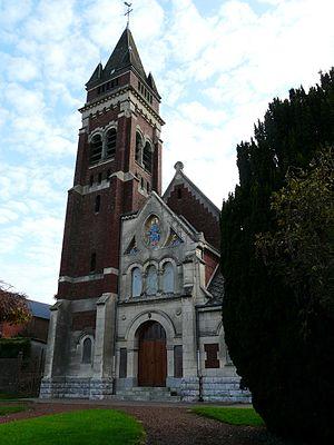 Bantouzelle - Image: Bantouzelle église