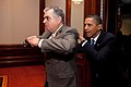 Barack Obama joking with Ray LaHood 2010.jpg