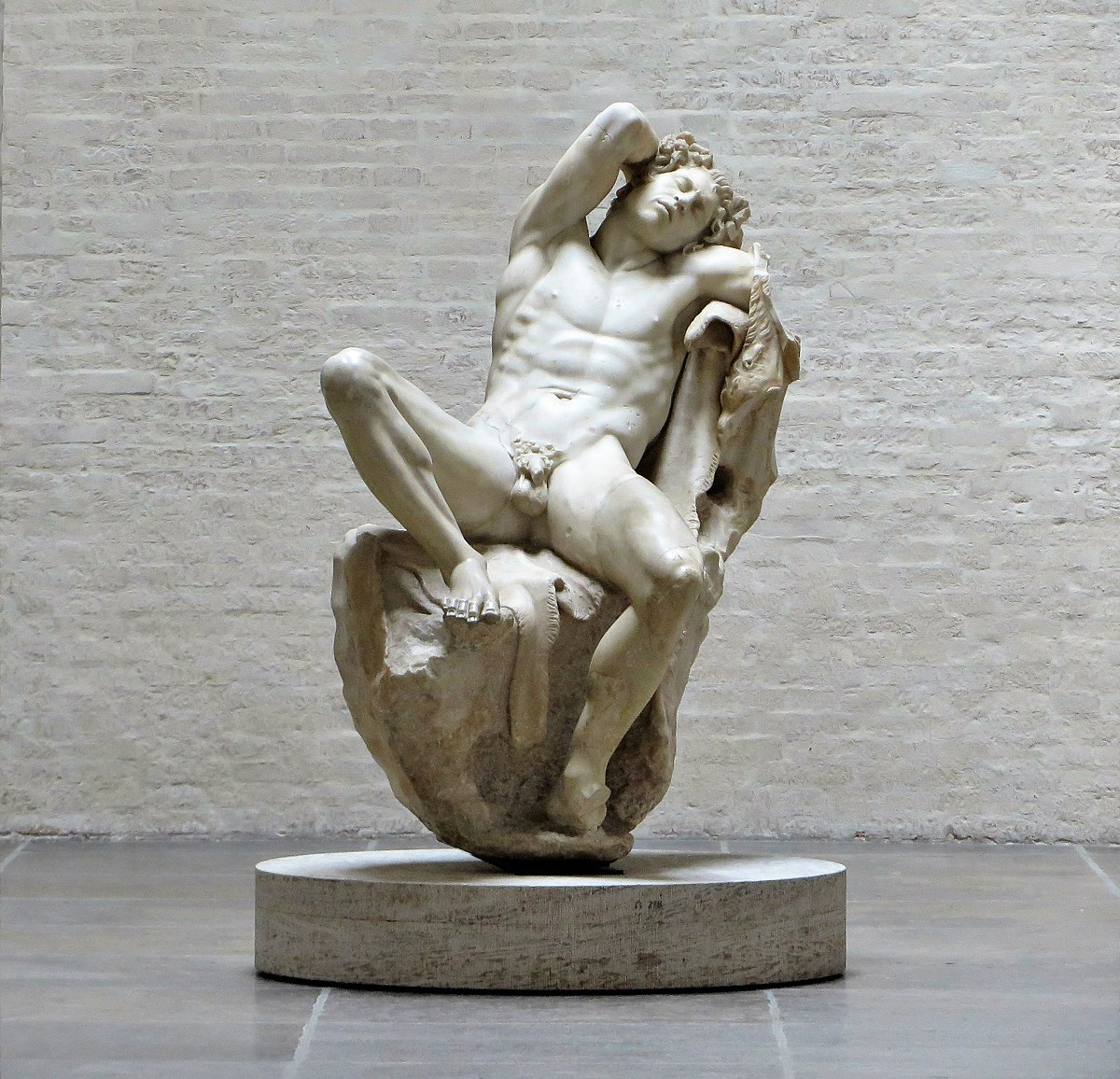 Barberini Faun Wikimedia Commons