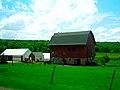 Barn near Devils Lake - panoramio.jpg