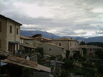 Barnave, Drôme - Image: Barnave (balcons)