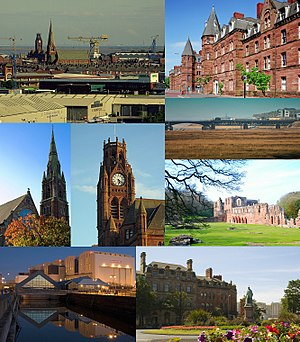 Barrow-in-Furness - Image: Barrow montage 2