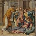 Bartholomäus Bruyn d. Ä. - Cyriakus-Folge, Der hl. Cyriakus befreit Jobia vom bösen Geist - WAF 107 C - Bavarian State Painting Collections.jpg