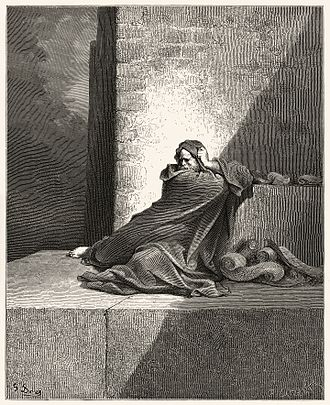Baruch ben Neriah - An image of Baruch from Gustave Doré's illustrations for ''La Grande Bible de Tours''.