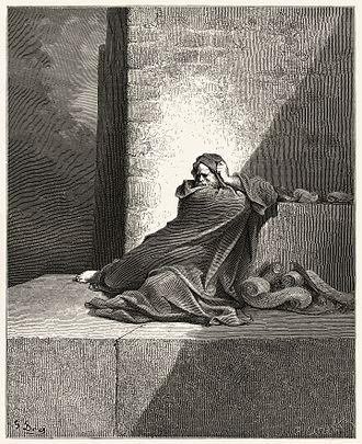 Baruch ben Neriah - An image of Baruch from Gustave Doré's illustrations for La Grande Bible de Tours.