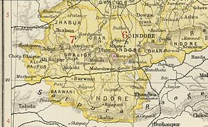 Jhabua State - Jhabua State in the Imperial Gazetteer of India