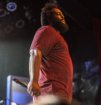 Bas (rapper) - Bas performing at The Mod Club in Toronto during Too High to Riot Tour in 2016
