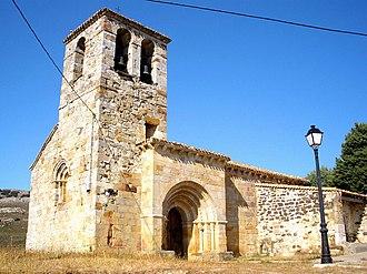 Basconcillos del Tozo - Image: Basconcillos del Tozo Iglesia de San Cosme y San Damian 18