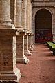Bases de les pilastres del claustre sud, sant Miquel dels Reis.JPG