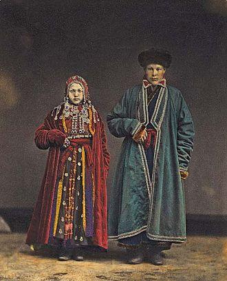 Bashkirs - Bashkirs. Picture by Mikhail Bukar, 1872