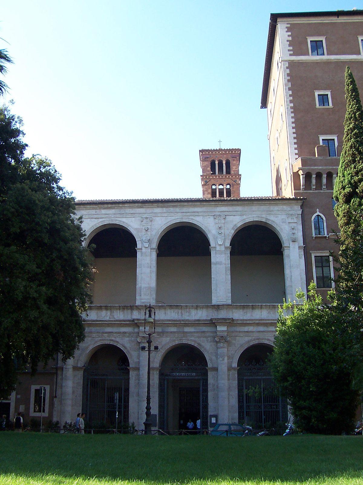 Basilica di san marco evangelista al campidoglio wikipedia for Esterno basilica di san marco