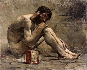Diogenes - Diogenes (1873) by Jules Bastien-Lepage