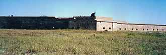 Fort Pickens - Panorama of Fort Pickens