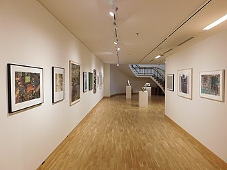 Bates College Museum of Art - East wing of the gallery