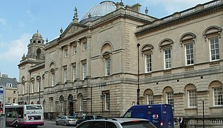 Guildhall, Bath Grade I listed seat of local government in Bath and North East Somerset, United Kingdom