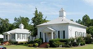 Bath Presbyterian Church and Cemetery - Image: Bath Presbyterian Church, Blythe, GA, US