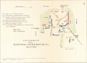 Battle of Hanover Court House - Engagement Near Hanover Court-House, Virginia.