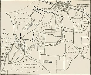 Battle of Iuka - Battle of Iuka, Miss., September 19, 1862