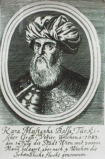 Kara Mustafa Pasha Ottoman military leader and grand vizier