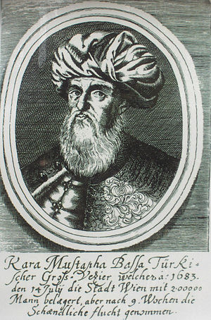 Kara Mustafa Pasha - Kara Mustafa Pasha, Ottoman commander at the Battle of Vienna