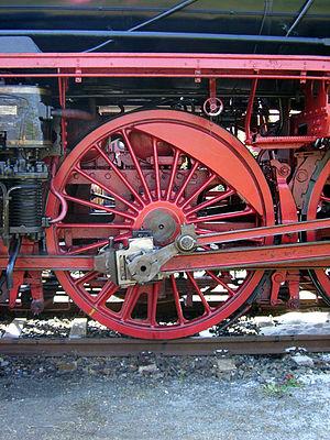 DRB Class 03.10 - Image: Baureihe 03 10 Treibrad