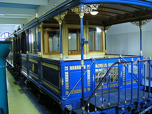 Nuremberg Transport Museum - King Ludwig's royal train.