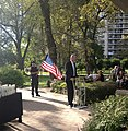 BdB speaking at Asser Levy Park (7979707099).jpg