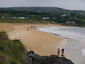 Beach Rush Hour - Culdaff - geograph.org.uk - 1019948.jpg