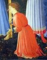 Beato angelico, pala strozzi della deposizione, con cuspidi e predella di lorenzo monaco, 12.JPG