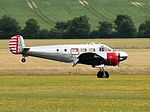 Beechcraft Model 18 - Flying Legends 2016 (28193508066).jpg