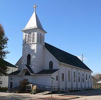 Beemer, Nebraska - Holy Cross Catholic Church