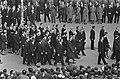 Begrafenis Adenauer, de gasten achter de baar, onder andere Johnson, Bestanddeelnr 920-2646.jpg