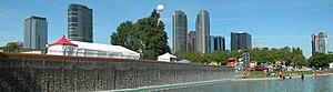 Downtown Bellevue - Image: Bellevue Panorama