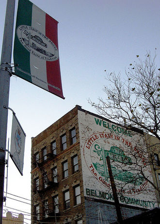 Belmont, Bronx - Streetscape of Belmont