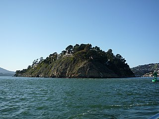 Belvedere Island island in the United States of America