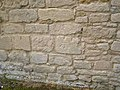 Bench mark on St Firmin's Church, Thurlby - geograph.org.uk - 523836.jpg