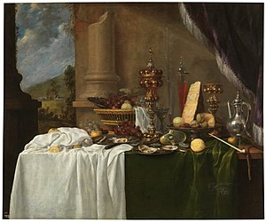 Andries Benedetti - Table with deserts