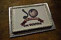 Bengali Wikipedia 10th Anniversary Cake - Bengali Wikipedia 10th Anniversary Celebration - Jadavpur University - Kolkata 2015-01-09 3032.JPG