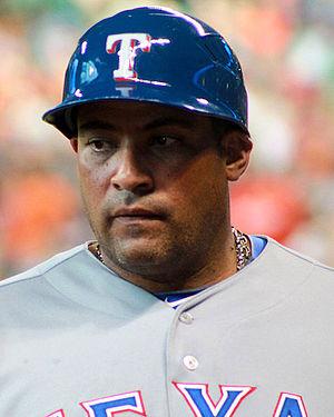 Bengie Molina - Molina as a Rangers coach (2014)