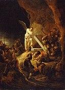 Benjamin Gerritsz. Cuyp - Engel die de steen van het graf haalt - NM 1325 - Nationalmuseum.jpg