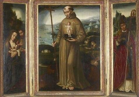 Benson Ambrosius-Triptich of Saint Antonius