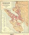 Bergens by nr 22- Kart over Bergen, 1885.jpg