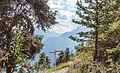 Bergtocht van Homene Dessus naar Vens in Valle d'Aosta. Doorkijkje vanaf het bergpad op omringende bergtoppen 02.jpg